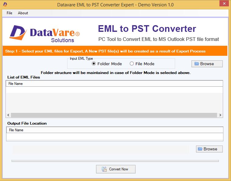 DataVare EML to PST Converter Export Review for Windows