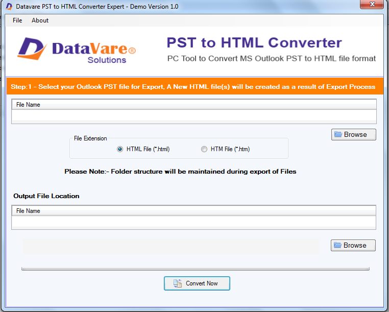 DataVare PST to HTML Converter Expert Review for Windows